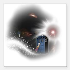 "Storm Square Car Magnet 3"" x 3"""