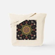 hipster vintage floral mandala Tote Bag