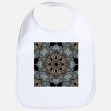 bohemian floral mandala hipster Bib