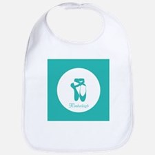 Team Pointe Ballet Aqua Monogram Bib