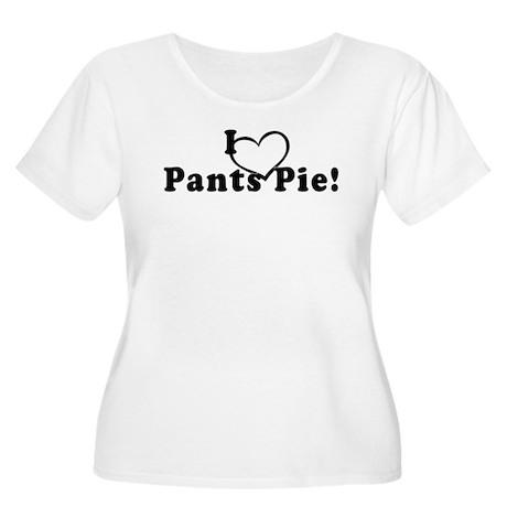 Pants Pie Women's Plus Size Scoop Neck T-Shirt