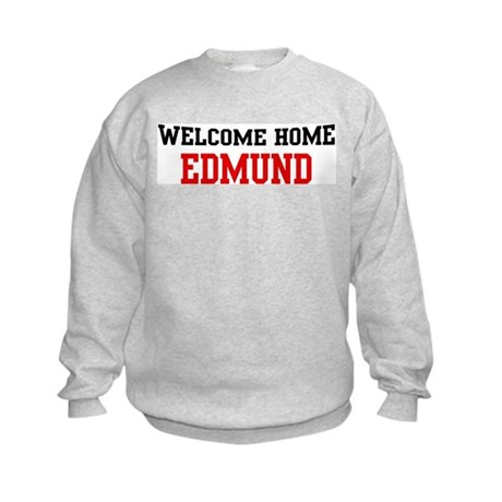 Welcome home EDMUND Kids Sweatshirt