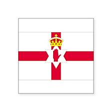 """Unique Flag of ireland Square Sticker 3"""" x 3"""""""