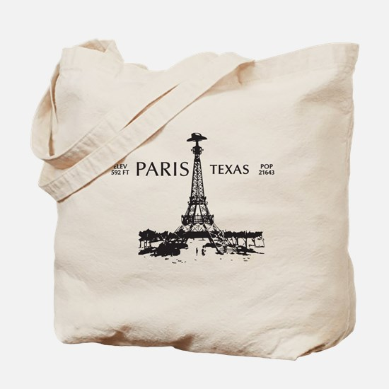 Paris, Texas Tote Bag
