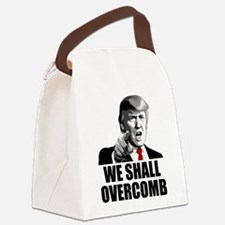 We Shall Overcomb Canvas Lunch Bag