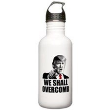 We Shall Overcomb Water Bottle
