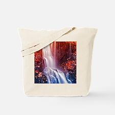 Colorfull waterfall Tote Bag