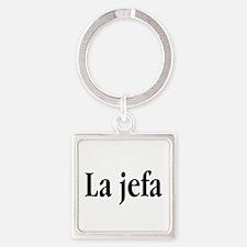 La jefa Keychains