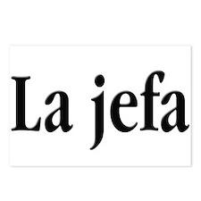 La jefa Postcards (Package of 8)