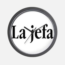 La jefa Wall Clock