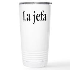 La jefa Travel Mug