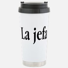 La jefa Travel Mug