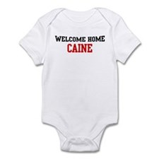 Welcome home CAINE Infant Bodysuit