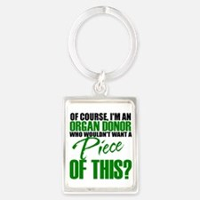 Cute Organ donor Portrait Keychain