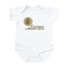 Palm Tree Nicaragua Infant Bodysuit