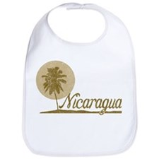 Palm Tree Nicaragua Bib