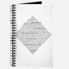Recovery Slogans & Sayings Journal