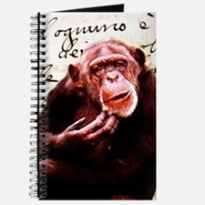 Cute ape funny chimpanzee Journal