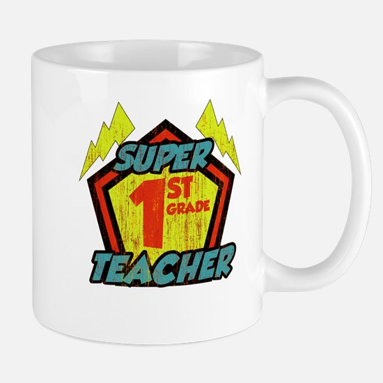 Super First Grade Teacher Mug