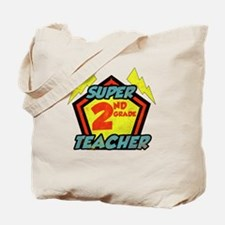 Super Second Grade Teacher Tote Bag