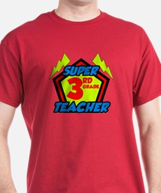 Super Third Grade Teacher T-Shirt