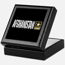 U.S. Army: Afghanistan (Black) Keepsake Box