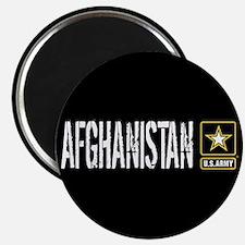 """U.S. Army: Afghanistan (Bla 2.25"""" Magnet (10 pack)"""