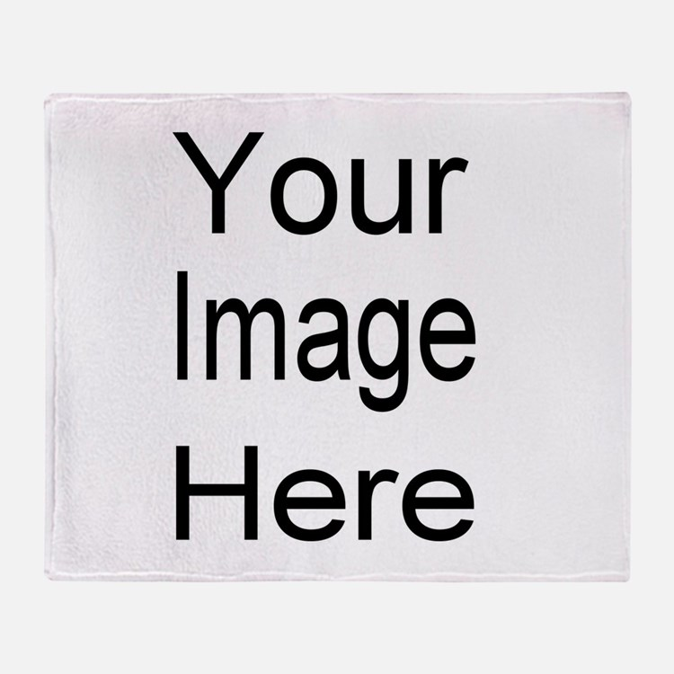 Add your own picture Throw Blanket