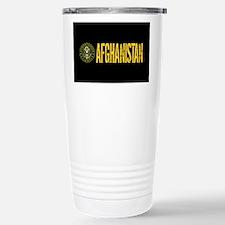 U.S. Army: Afghanistan Stainless Steel Travel Mug