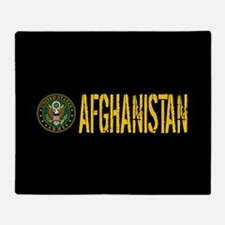 U.S. Army: Afghanistan Throw Blanket