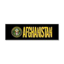 U.S. Army Afghanistan Car Magnet 10 x 3