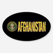 U.S. Army: Afghanistan Sticker (Oval)