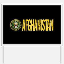U.S. Army: Afghanistan Yard Sign