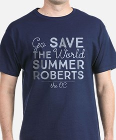 Go Save The World Summer Roberts The OC T-Shirt