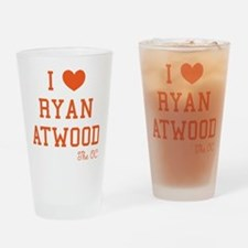 I Love Ryan Atwood The OC Drinking Glass
