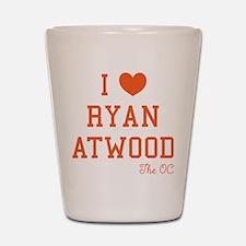 I Love Ryan Atwood The OC Shot Glass