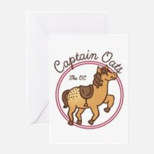 Cute Captain Oats The OC Greeting Cards