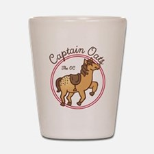 Cute Captain Oats The OC Shot Glass
