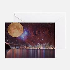 Strange Skys Greeting Card