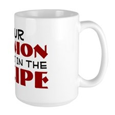 Your opinion was not in the recipe Mug