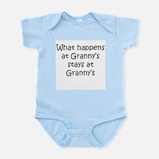 Unique What happens grandmas Infant Bodysuit