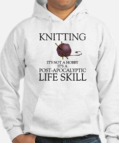 Knitting not a hobby it's a life Hoodie