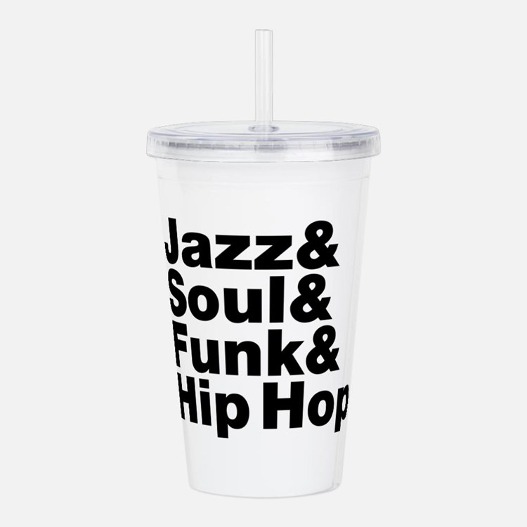 Jazz & Soul & Funk & Hip Hop Acrylic Double-wall T