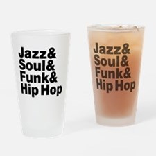 Jazz & Soul & Funk & Hip Hop Drinking Glass