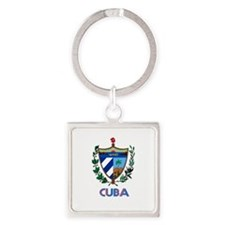 Coat of Arms CUBA Keychains