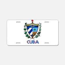 Coat of Arms CUBA Aluminum License Plate