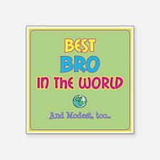 Best Bro and Modest Sticker