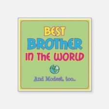 Best Brother and Modest Sticker