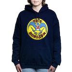 USS ROBISON Women's Hooded Sweatshirt