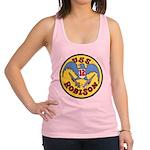 USS ROBISON Racerback Tank Top